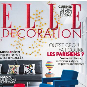 Elle Decoration – Octobre 2015